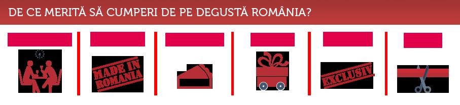 De ce Degustă România?