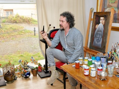 Te invită Piatra Neamț - Introducere în pictura pe sticlă/ ceramică/ lemn