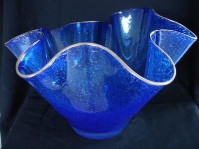"""""""Vine Sibiul la tine"""" - Manufactură Premium, Bol, colecția """"Utilitare"""" Tămâian Art Glass"""