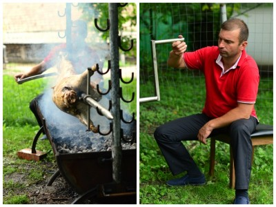 """""""Vine Piatra Neamț la tine"""", Petrecere cu porcușori la jar, preparați de însuși Mister Proțap"""