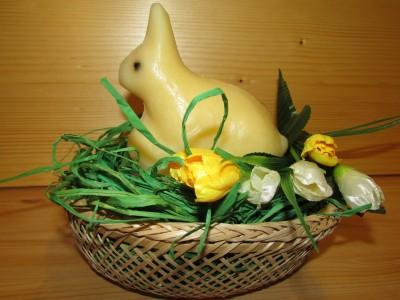 "Iepuraș de Paște din cașcaval Zada - (0,5 kg) - ""Vine Bucovina la tine"""