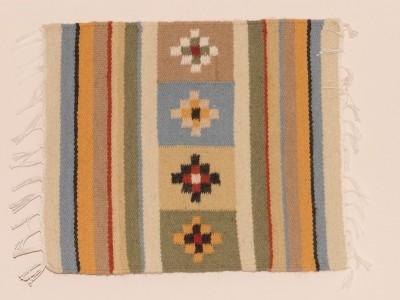 """Carpetă cu motive tradiționale, palat, din zona etnografică a Neamțului. Manufactură Premium, """"Vine Moldova la tine!"""""""