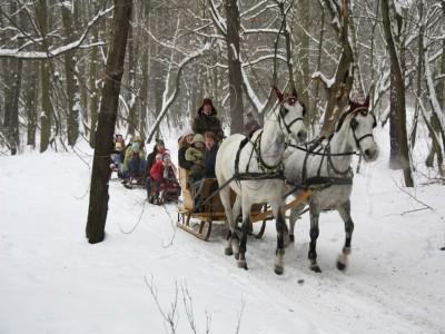 Evadare cu familia la Sighișoara: plimbare cu trăsura sau cu sania, lecția de muls caprele, cursuri de călărie pentru copii și părinți, lecție despre argila vie la singura fabrica de ceramică romană din țară. Cu 2-5 nopți de cazare.