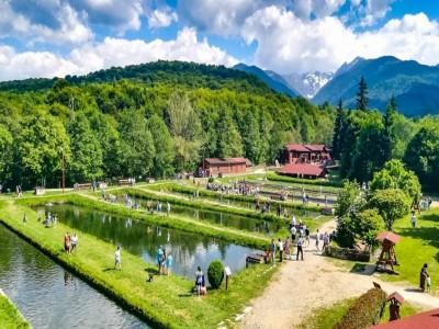 Aventură de 3-6 zile în Munții Făgăraș: relaxare la ștrandul de la munte, vizită la ferme, ospăț cu pește proaspăt și cu vită de rasă nobilă! Te invită Sibiul!