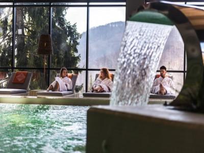 LATE CHRISTMAS la Balvanyos Resort 4*, Covasna - 3 nopți, demipensiune, acces la circuitul termal din Grand Santerra Spa (piscine, saune, baie cu aburi, salină) + Pool Party, plimbare cu sania trasă de cai + Silent Party și întâlnire cu Moș Crăciun
